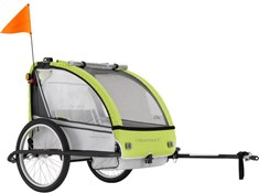 Product image for Adventure AT5 Alloy 2 Seater Bicycle Trailer