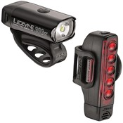 Lezyne Hecto Drive 300XL/Strip Front/Rear USB Rechargeable Light Set
