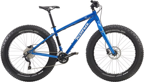 Kona Wo Fat Bike Mountain Bike 2016 - Fat bike