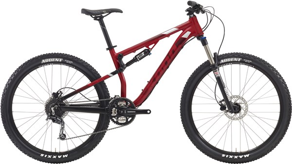 Image of Kona Precept 120 Mountain Bike 2016 - Full Suspension MTB