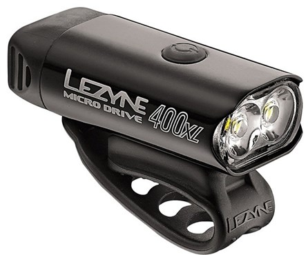 Lezyne Micro Drive 400XL USB Rechargeable Front Light