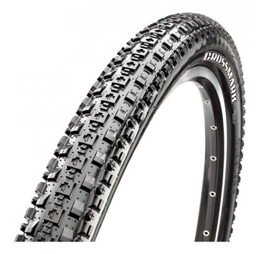 "Image of Maxxis CrossMark MTB Mountain Bike Wire Bead 26"" Tyre"