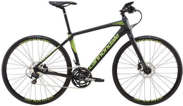 Image of Cannondale Quick Carbon 1 Flat Bar 2017 - Road Bike