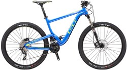 GT Helion Elite Mountain Bike 2016 - Full Suspension MTB