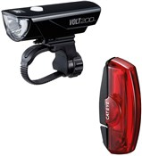 Cateye Volt 200 / Rapid X Rechargeable Light Set