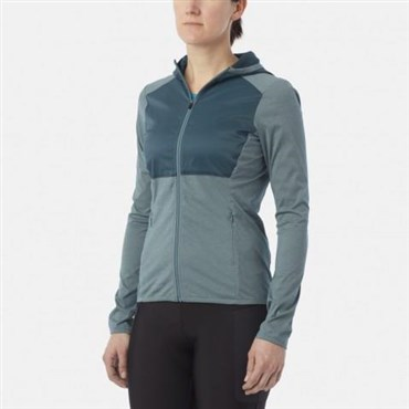 Image of Giro Wind Guard Hoodie LT Womens Cycling Full Zip Hoody Jacket SS16