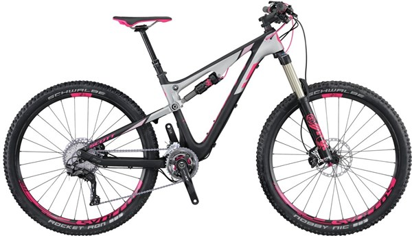 Image of Scott Contessa Genius 700 Womens  Mountain Bike 2016 - Full Suspension MTB