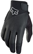 Fox Clothing Womens Reflex Full Finger Gel Cycling Glove SS16