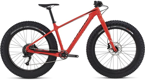 Image of Specialized Fatboy Comp Carbon Mountain Bike 2017 - Fat bike