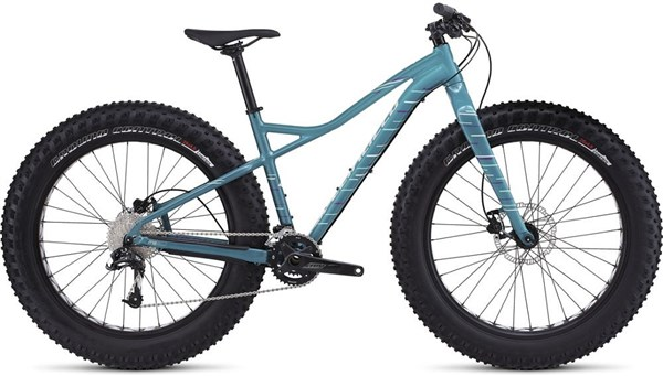 Specialized Hellga Comp Womens Mountain Bike 2017 - Fat bike