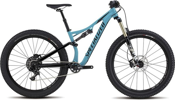 "Image of Specialized Rhyme FSR Comp 6Fattie Womens  27.5""  Mountain Bike 2017 - Full Suspension MTB"