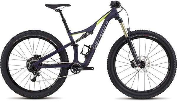 "Image of Specialized Rhyme FSR Comp Carbon 6Fattie Womens  27.5"" Mountain Bike 2017 - Full Suspension MTB"