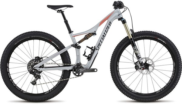 "Image of Specialized Rhyme FSR Expert Carbon 6Fattie Womens  27.5"" Mountain Bike 2017 - Full Suspension MTB"