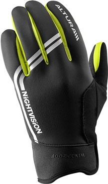 Image of Altura Night Vision Windproof Cycling Gloves AW16