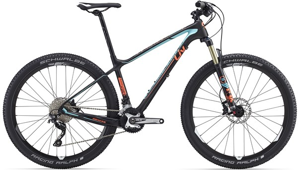 Image of Giant Liv Obsess Advanced 2 Womens  Mountain Bike 2016 - Hardtail MTB