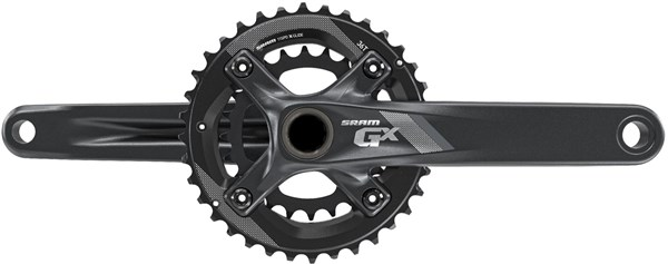 Image of SRAM Crank GX 1000 GXP - 2x11/175mm - 36-24T (GXP Cups Not Included)