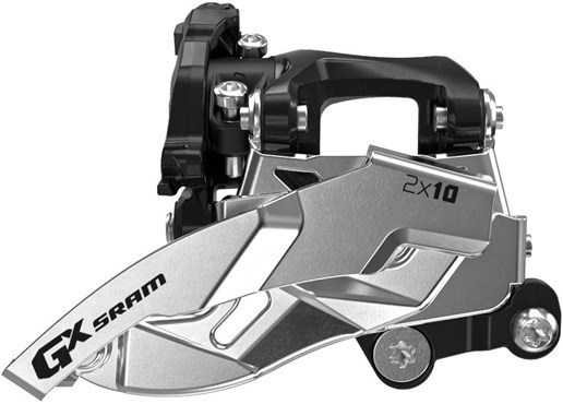 Image of SRAM Front Derailleur GX 2x10 Low Direct Mount 38T Dual Pull