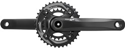 Product image for SRAM Crank GX 1400 GXP 2x11 170 Black 36-24 (GXP Cups Not Included)