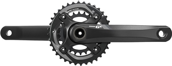 Image of SRAM Crank GX 1400 GXP 2x11 170 Black 36-24 (GXP Cups Not Included)