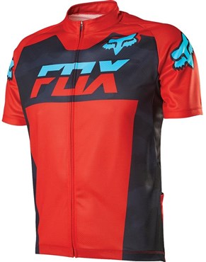 Image of Fox Clothing Livewire Race Mako Short Sleeve Jersey