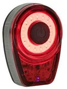 Moon Ring Rechargeable Rear Light - 25 Lumens