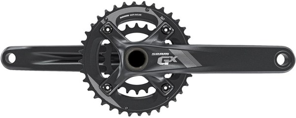 Image of SRAM Crank GX 1000 GXP 2x10 -  All Mountain Guard 38-24 - (GXP Cups Not Included)