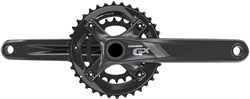 Product image for SRAM Crank GX 1000 GXP 2x11 - All Mountain Guard 36-24 -  (GXP Cups Not Included)