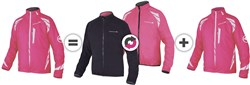 Endura Luminite 4 in 1 Womens Cycling Jacket AW17
