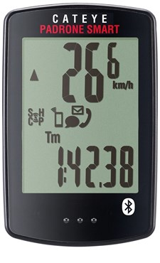 Image of Cateye Padrone Smart Cycle Computer - Heart Rate and Cadence Sensor