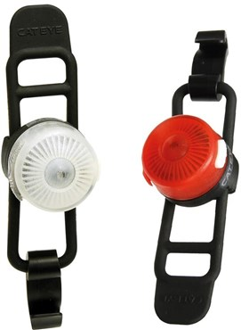 Image of Cateye Loop 2 Front / Rear Light Set