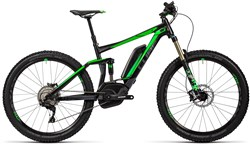 Cube Stereo Hybrid 140 HPA Race 500  2016 - Electric Bike