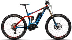 Cube Stereo Hybrid 160 HPA Action Team 500 27.5 2016 - Electric Bike