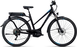 Cube Touring Hybrid Exc 400 Trapeze Womens  2016 - Electric Bike