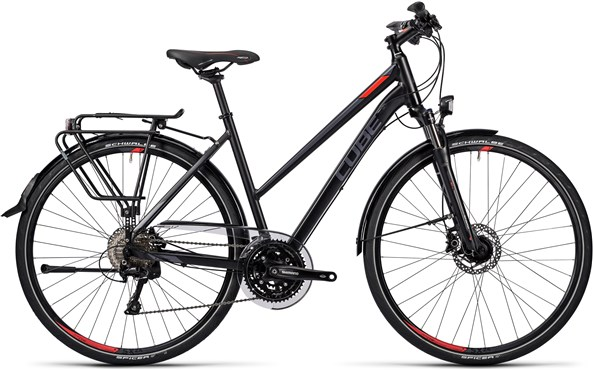 Image of Cube Touring SL Trapeze Womens  2016 - Hybrid Sports Bike
