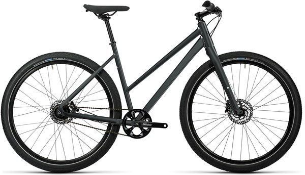 Image of Cube Hyde Pro Trapeze Womens  2016 - Hybrid Sports Bike