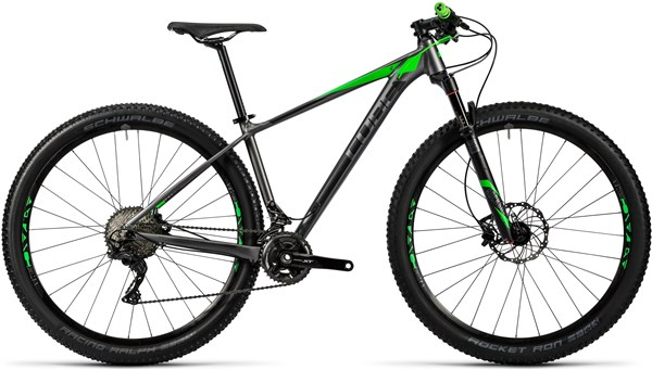 Image of Cube Reaction HPA Pro 29  Mountain Bike 2016 - Hardtail MTB