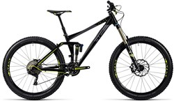 Cube Fritzz 180 HPA Race 27.5 Mountain Bike 2016 - Full Suspension MTB