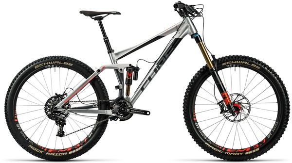 Image of Cube Fritzz 180 HPA SL 27.5 Mountain Bike 2016 - Full Suspension MTB