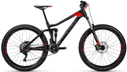 Cube Stereo 140 C:62 Race 27.5 Mountain Bike 2016 - Full Suspension MTB
