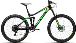 Cube Stereo 140 C:62 SL 27.5 Mountain Bike 2016 - Full Suspension MTB