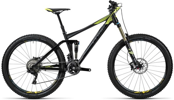 Image of Cube Stereo 140 HPA Race 27.5 Mountain Bike 2016 - Full Suspension MTB
