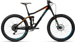 Cube Stereo 160 C:62 SL 27.5 Mountain Bike 2016 - Full Suspension MTB
