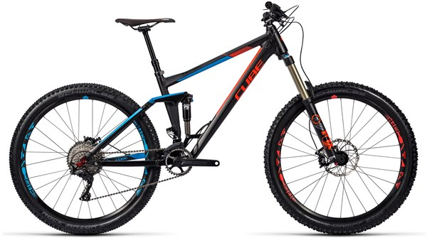 Cube Stereo 160 HPA Race 27.5 Mountain Bike 2016 - Full Suspension MTB
