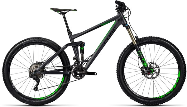 Cube Stereo 160 HPA SL 27.5 Mountain Bike 2016 - Full Suspension MTB