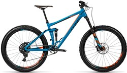 Cube Stereo 160 HPA TM 27.5 Mountain Bike 2016 - Full Suspension MTB
