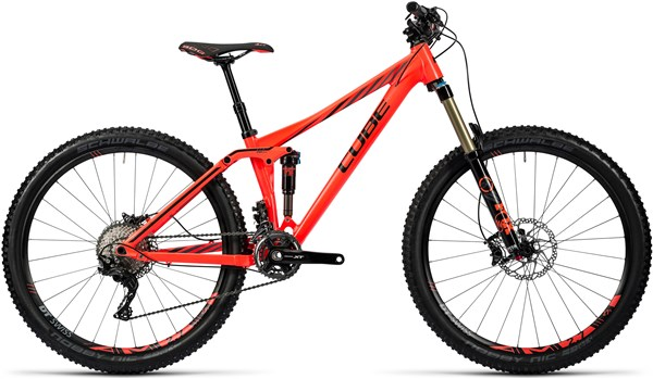 Image of Cube Sting WLS 140 SL Womens 27.5 Mountain Bike 2016 - Full Suspension MTB