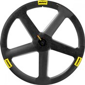 Mavic IO Carbon Track Tubular Front Wheel 2016
