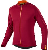 Product image for Mavic Aksium Thermo Long Sleeve Cycling Jersey