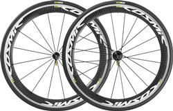 Mavic Cosmic Pro Carbone Clincher Road Wheels - White Decal 2016