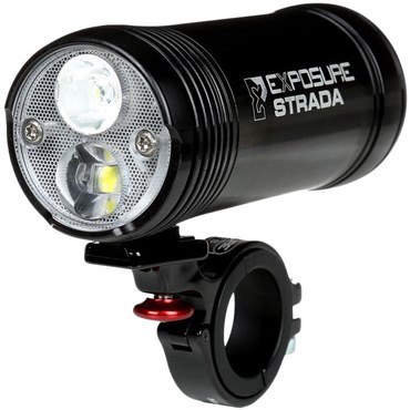 Image of Exposure Strada MK6 Rechargeable Front Light - Remote Included